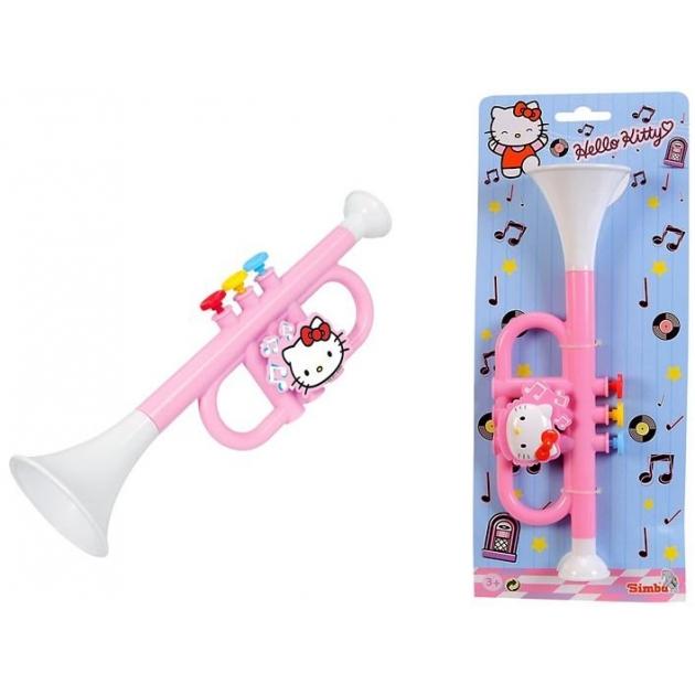 Игрушка музыкальные инструменты Simba Труба Hello Kitty 6835437